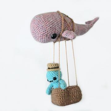 Skywhale amigurumi pattern by Maffers Toys