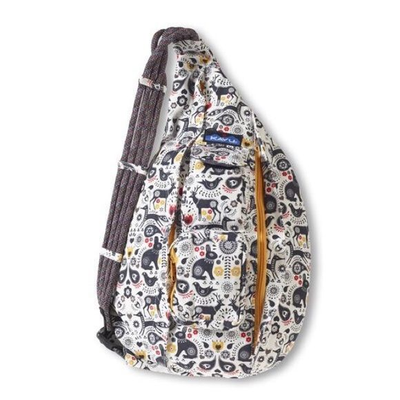 Kavu Rope Sling Bag Pattern Folklore Trying To Find