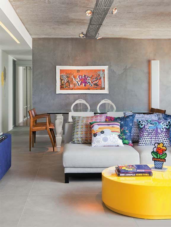 Cemento a la vista en las paredes Cemento, Decoración y Interiores - paredes de cemento