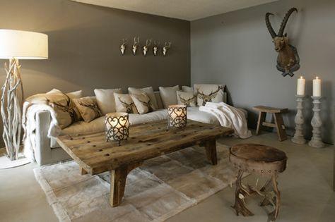 Modernes chalet landhausstil skandinavischer alpenstil for Dekoration wohnzimmer landhausstil