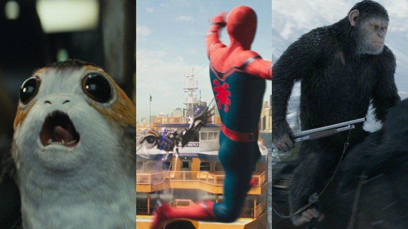 20 movies in the running for best visual effects at the oscars