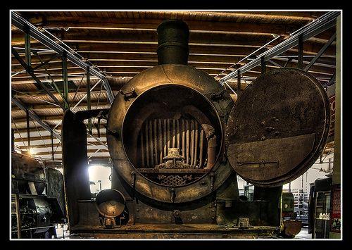 Berlin  Deutsches Technikmuseum Berlin  Dampflokomotivkessel