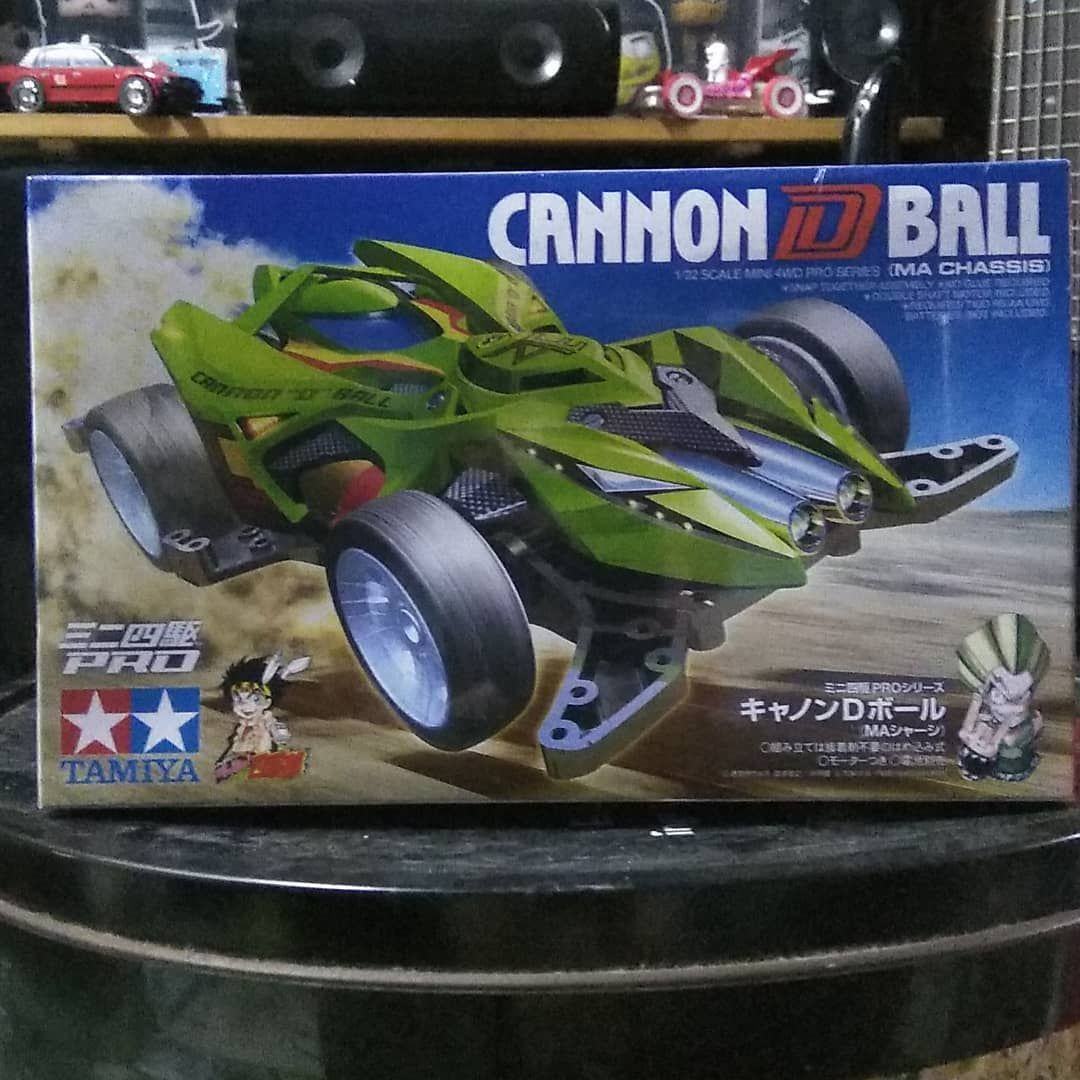 Cannon D Ball MA Chassis Tamiya Mini4WD 1/32