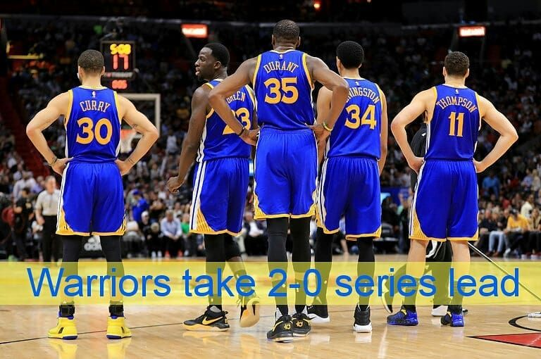 adfba2b54ba Warriors win in a blowout - - - Tags   celtics  kyrie  cavs  lebron ...