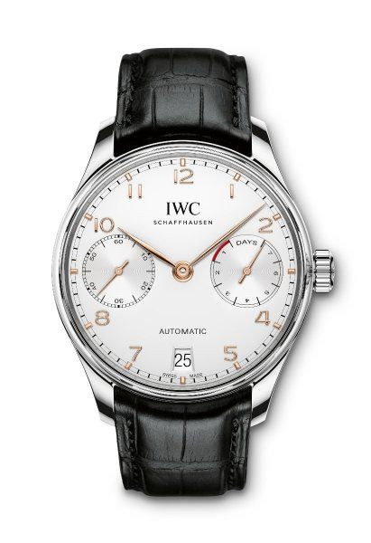 IWC: Der erste Schein trügt: Dies ist kein Chronograph, sondern die...