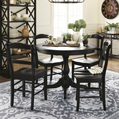Looking to downsize our kitchen table augusta 5 piece dining set ballard designs house and home pinterest dining tables and kitchens