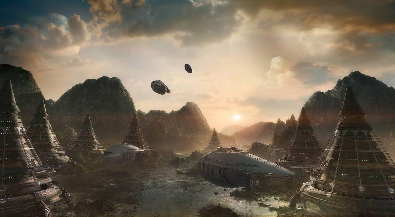 """""""Terraforming and Colonization"""" by #MichaelDaglas.  #sciencefiction #scifi"""