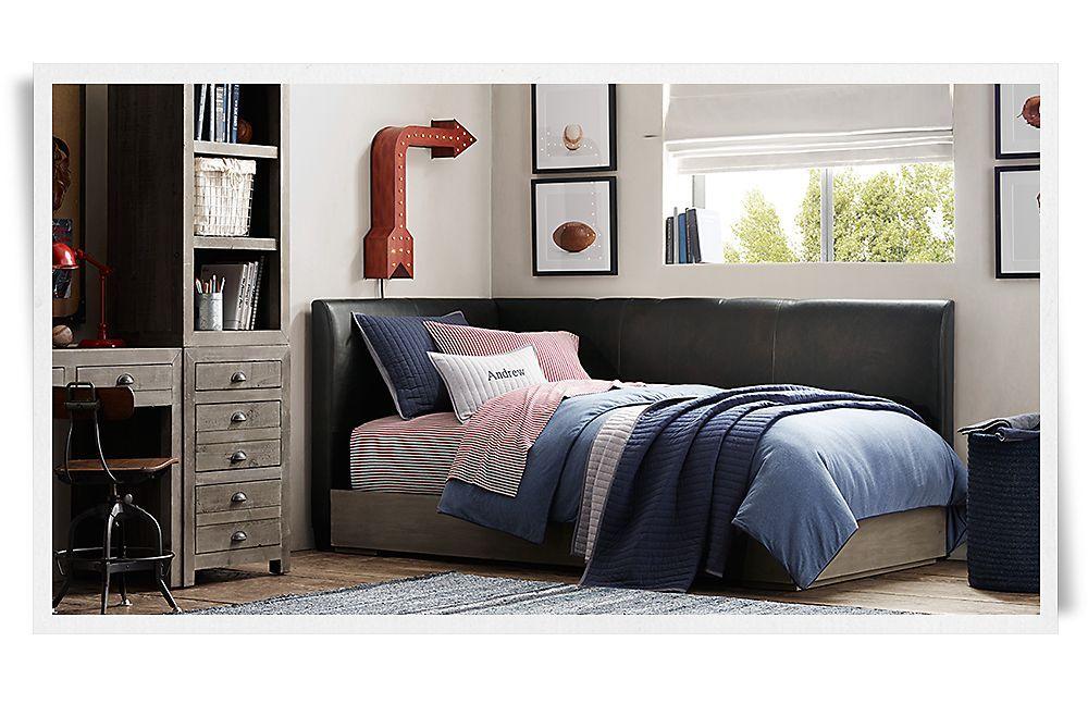 Best Rooms Restoration Hardware Baby Child Bed In Corner 400 x 300