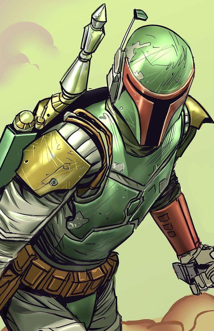 Boba Fett     Star Wars   Star Wars Art