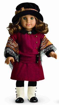 American Girl Rebecca Accessories NEW IN BOX Historical Hat Necklace Shawl