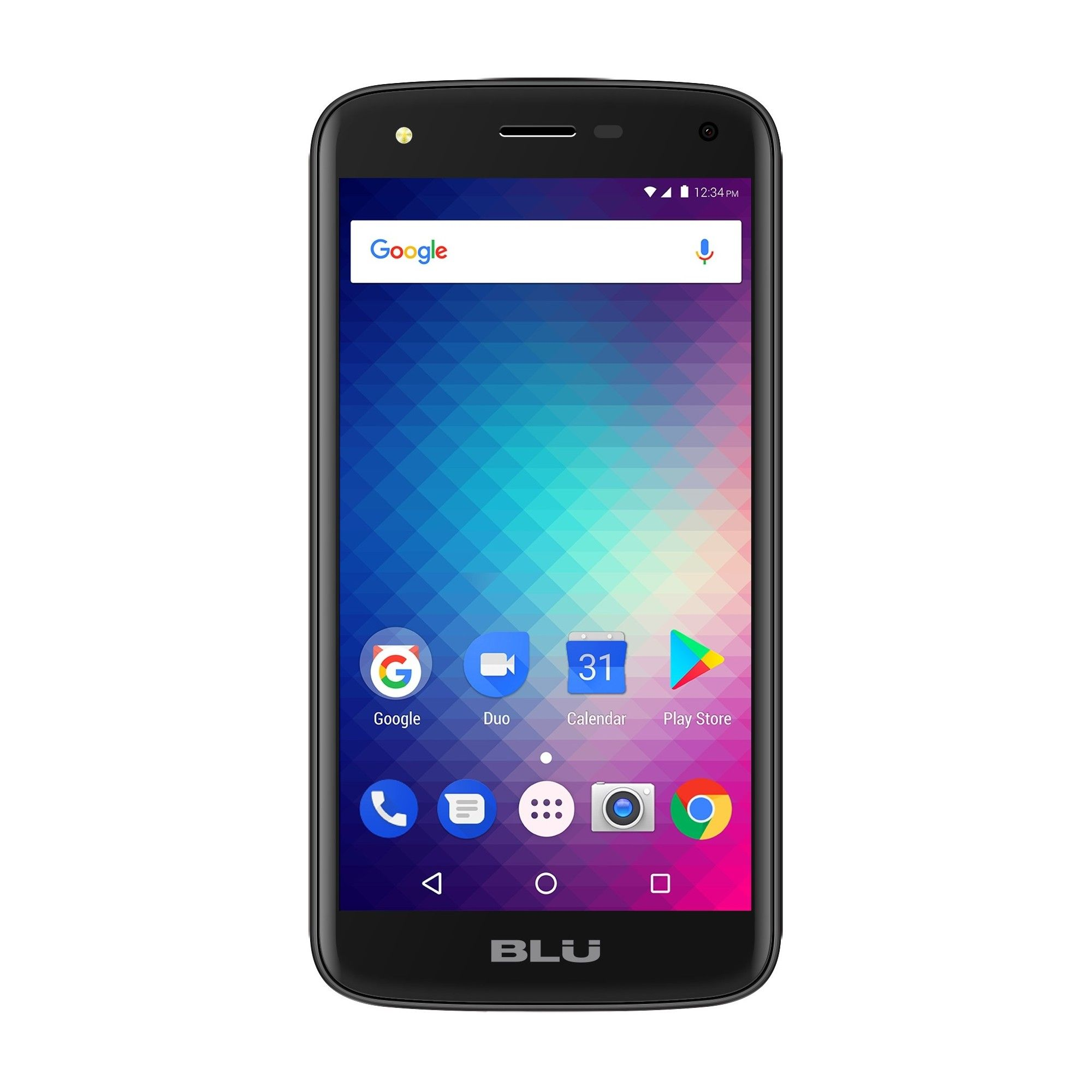 Blu c5 c012q smartphone gsm unlocked black dual sim