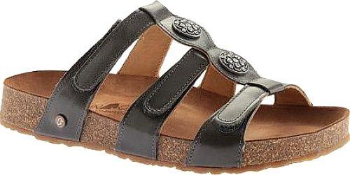 Haflinger Shoes - Slip into major comfort with the Haflinger Alice Slide  Sandal. Adjustable hook