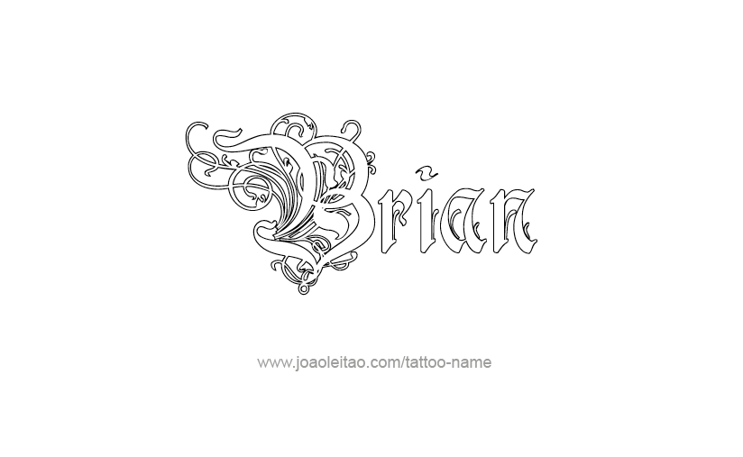 Brian Name Tattoo Designs Name Tattoos Name Tattoo Designs Name Tattoo