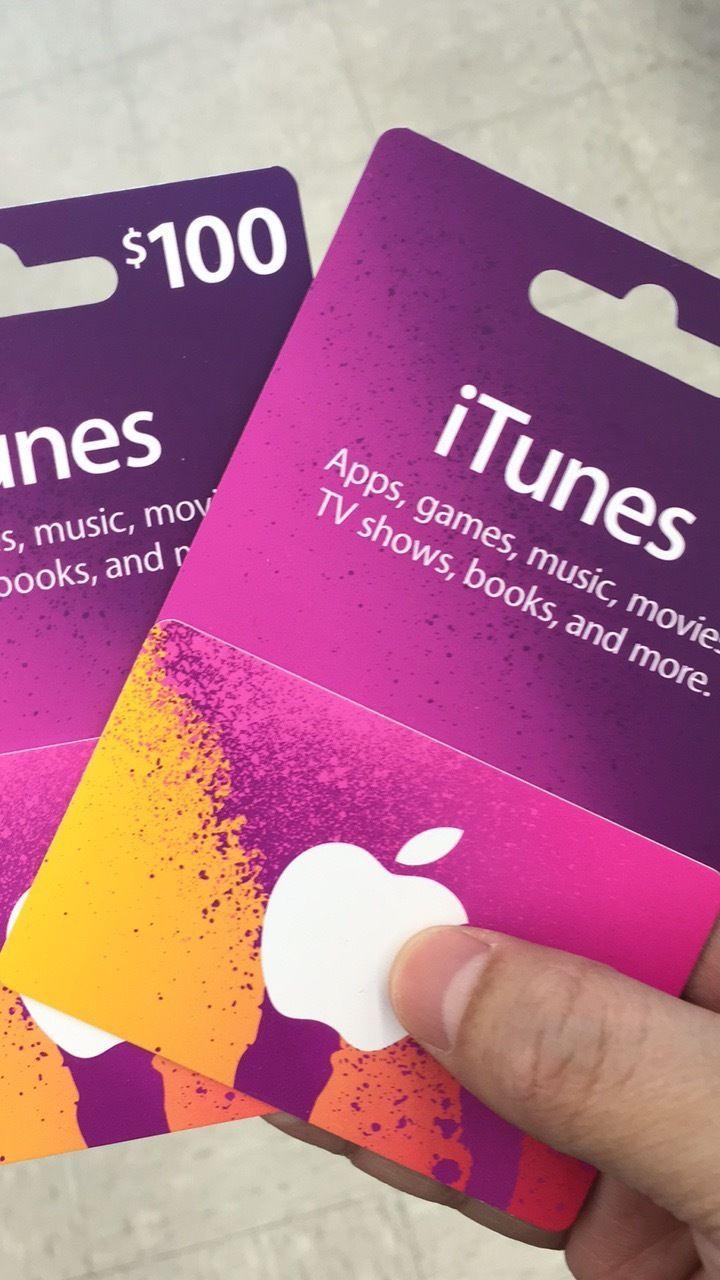 Apple itunes gift card 200 us dollars 100 x 2 200