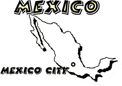 Yr 3 Wk16 Mexico Coloring 6 Mexico Coloring Pages Super