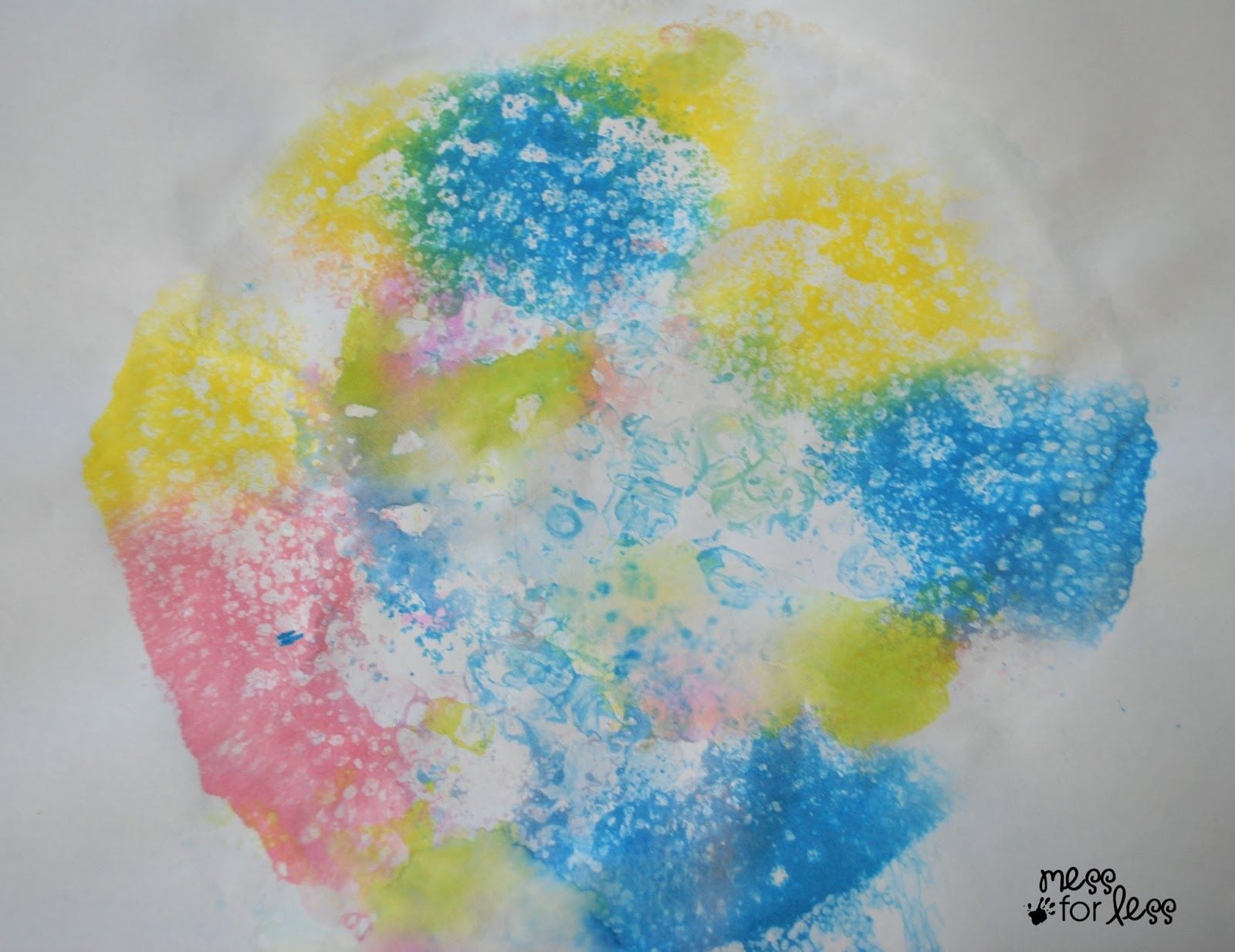 Soap Foam Prints Prints Preschool Art Liquid Watercolor