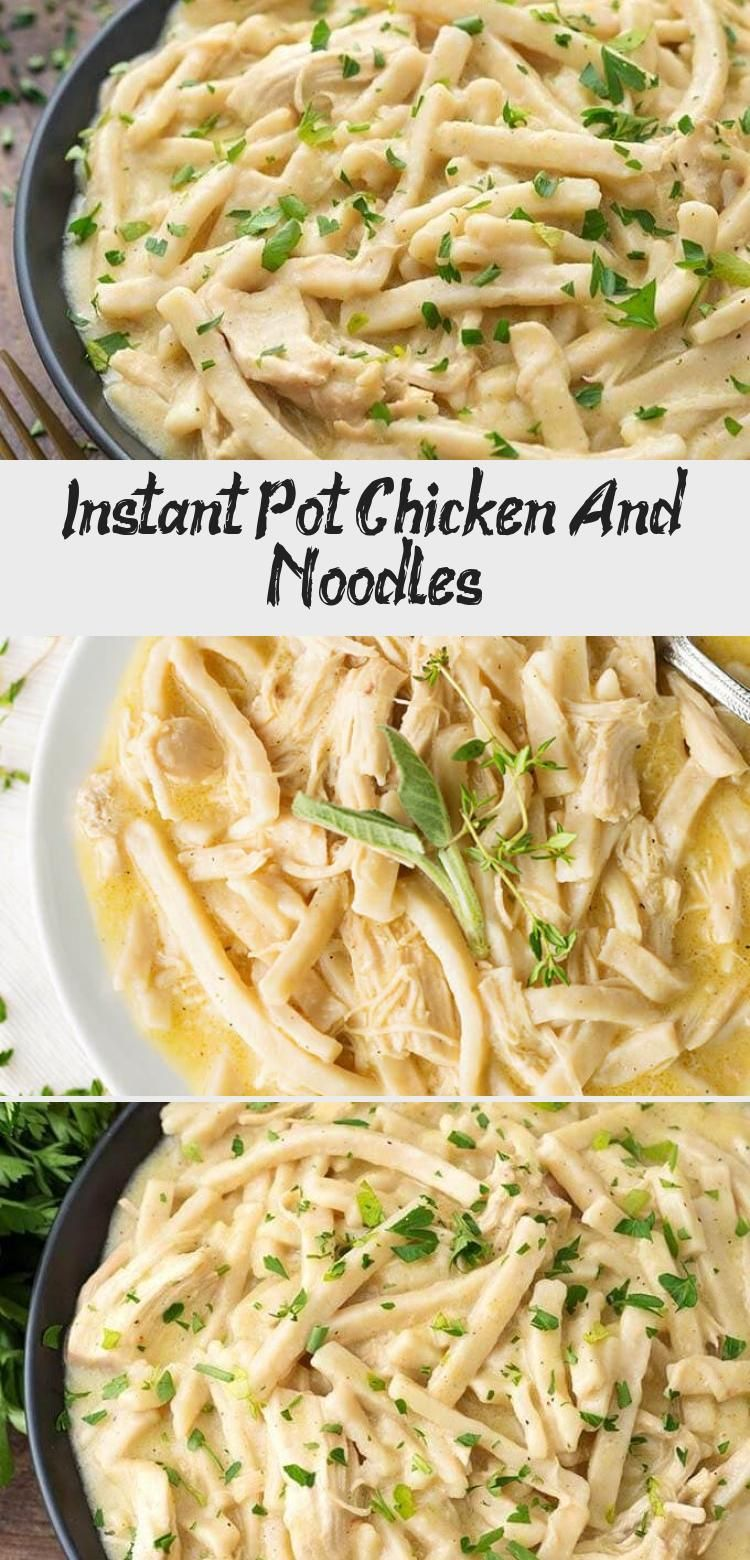 instant pot chicken and noodles in 2020  instant pot