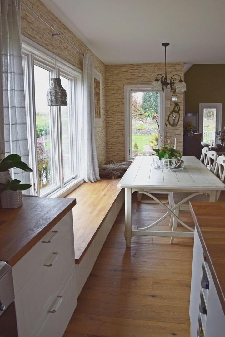 Elegante Gelassenheit In Kuche Und Esszimmer Bett Kitchen