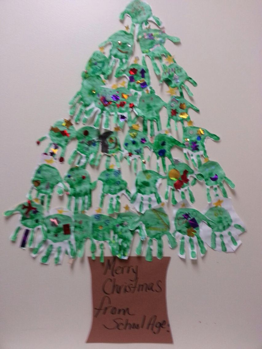 school age christmas crafts
