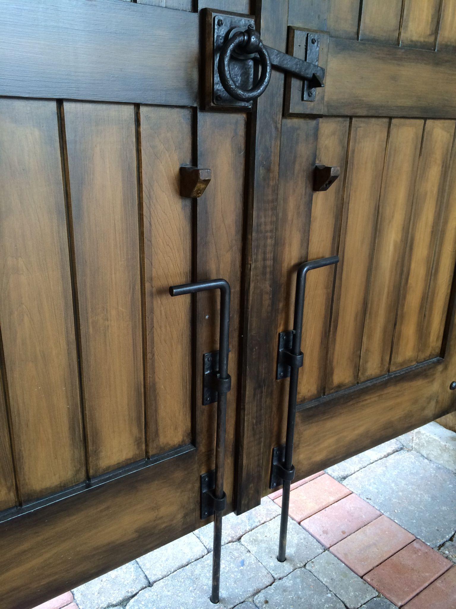 Image Result For Double Metal Gate Latches Garage Door