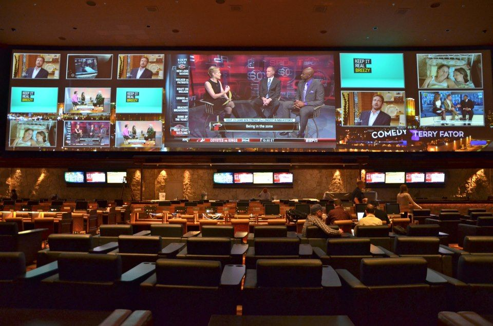 bellagio sportsbook next to the poker room on the main