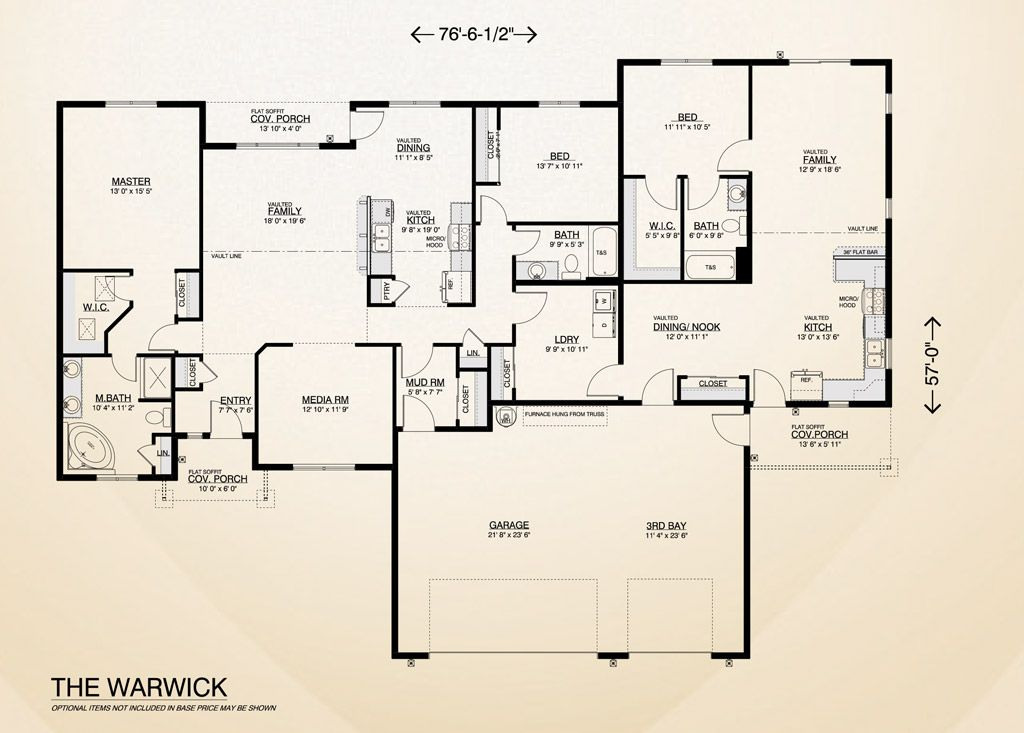 The Warwick Home Plan Multi Generational Home Built On Your Lot Extra Space For Family Or Rent Fully Customi House Plans Custom Home Builders Home Builders