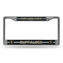 Colorado Buffaloes Bling Chrome License Plate Frame