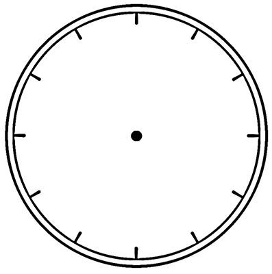 You can order this Clock face no Numbers | Motifs for Steampunk