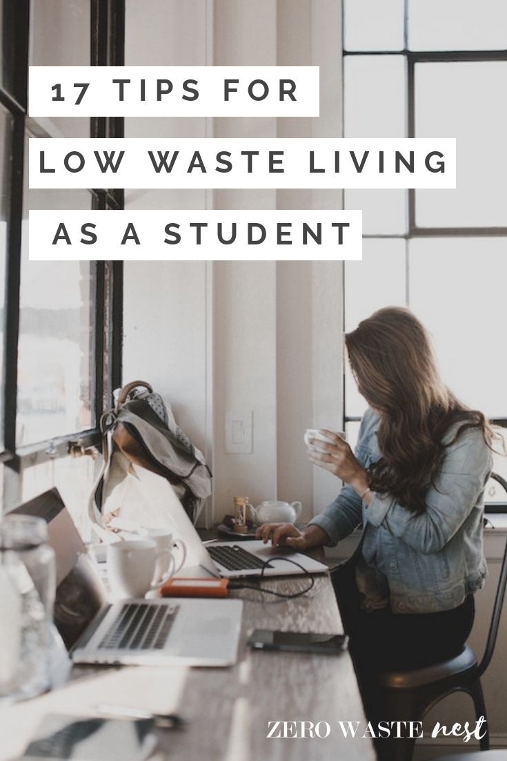 Photo of 17 Tips for Low Waste Living as a Student – Zero Waste Nest