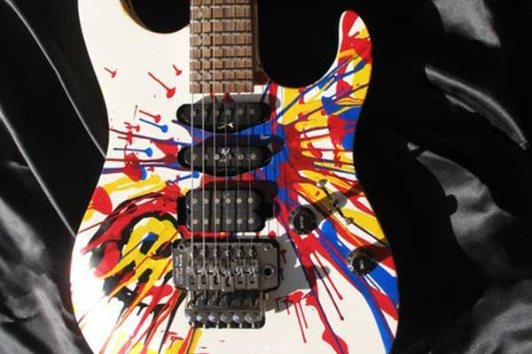 painted axe custom painted guitars michael gauf gitbox graphics pinterest guitar guitar. Black Bedroom Furniture Sets. Home Design Ideas