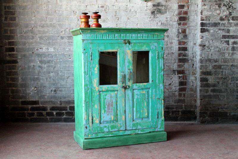 Bar Cabinet Salvaged Indian Furniture Kitchen Cabinet ...