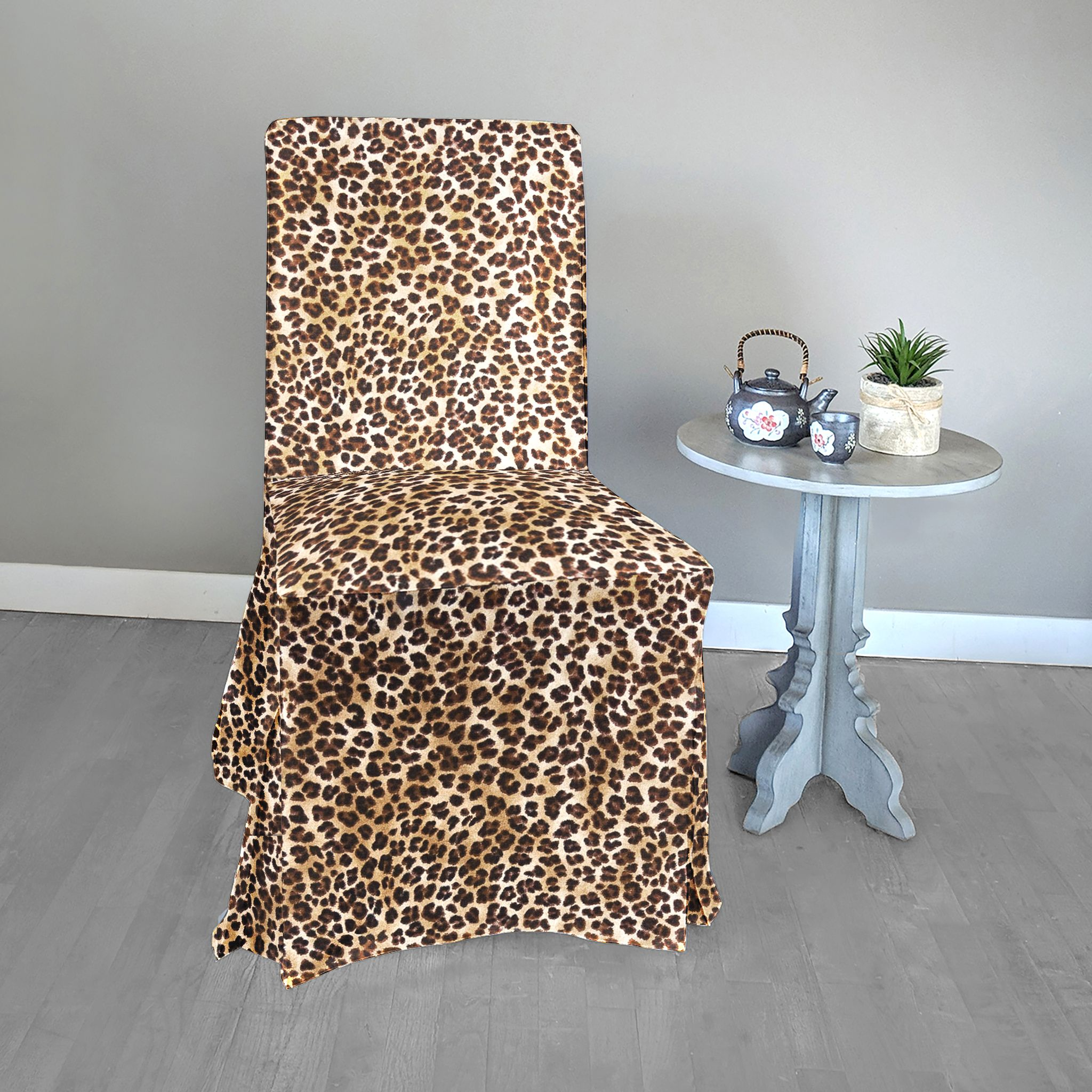 Leopard Print IKEA Henriksdal Dining Chair Cover in 2020