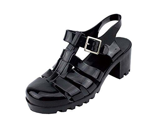 307216beb12 Vintage Style Women Sandals T Shoes with Rome Beach Jelly Shoes 8 Black --  Read more at the image link. (This is an Amazon affiliate link and I  receive a ...