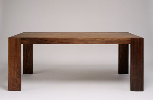 Solid Walnut Dining Table By Marmol Radziner Materials Solid