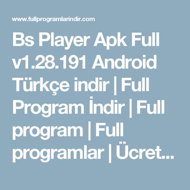 bs player full apk