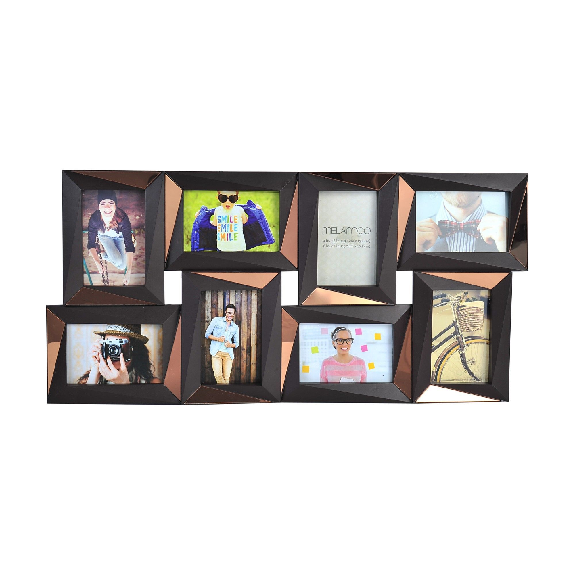 8 Piece Opening Dimensional Collage Picture Frame Set | Collage ...