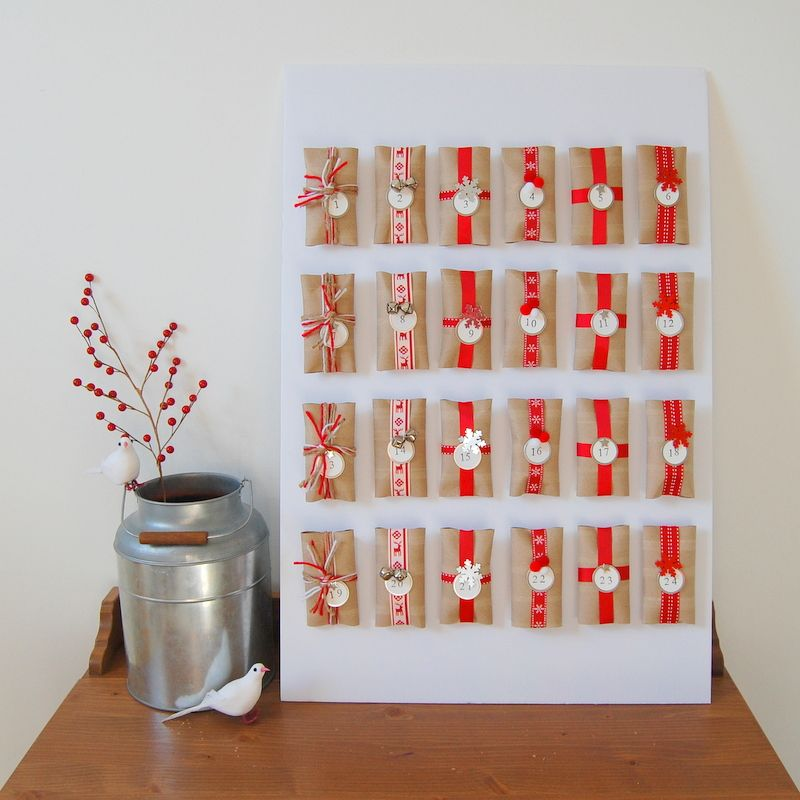 Advent Calendar Ideas Christmas : Diy advent calendar calendars holidays and