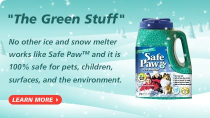 Safe Paw Ice Melt Pet Safe Ice Melter 1 Selling Snow Melter