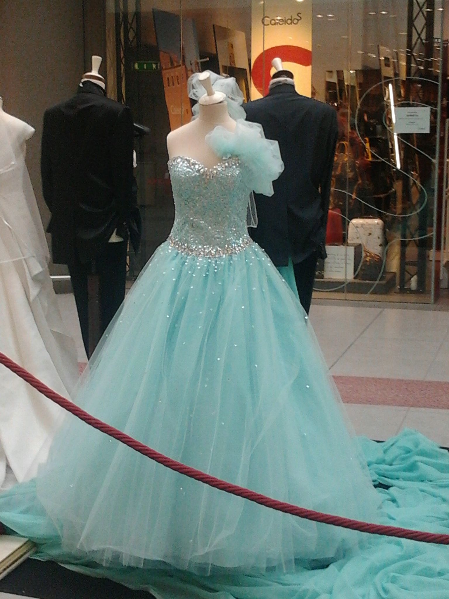 This dress reminds me Cinderella's dress. It's beautiful!!!!