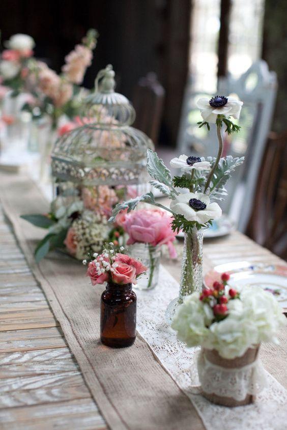 ideas con jaulas y faroles para bodas fciles de hacer
