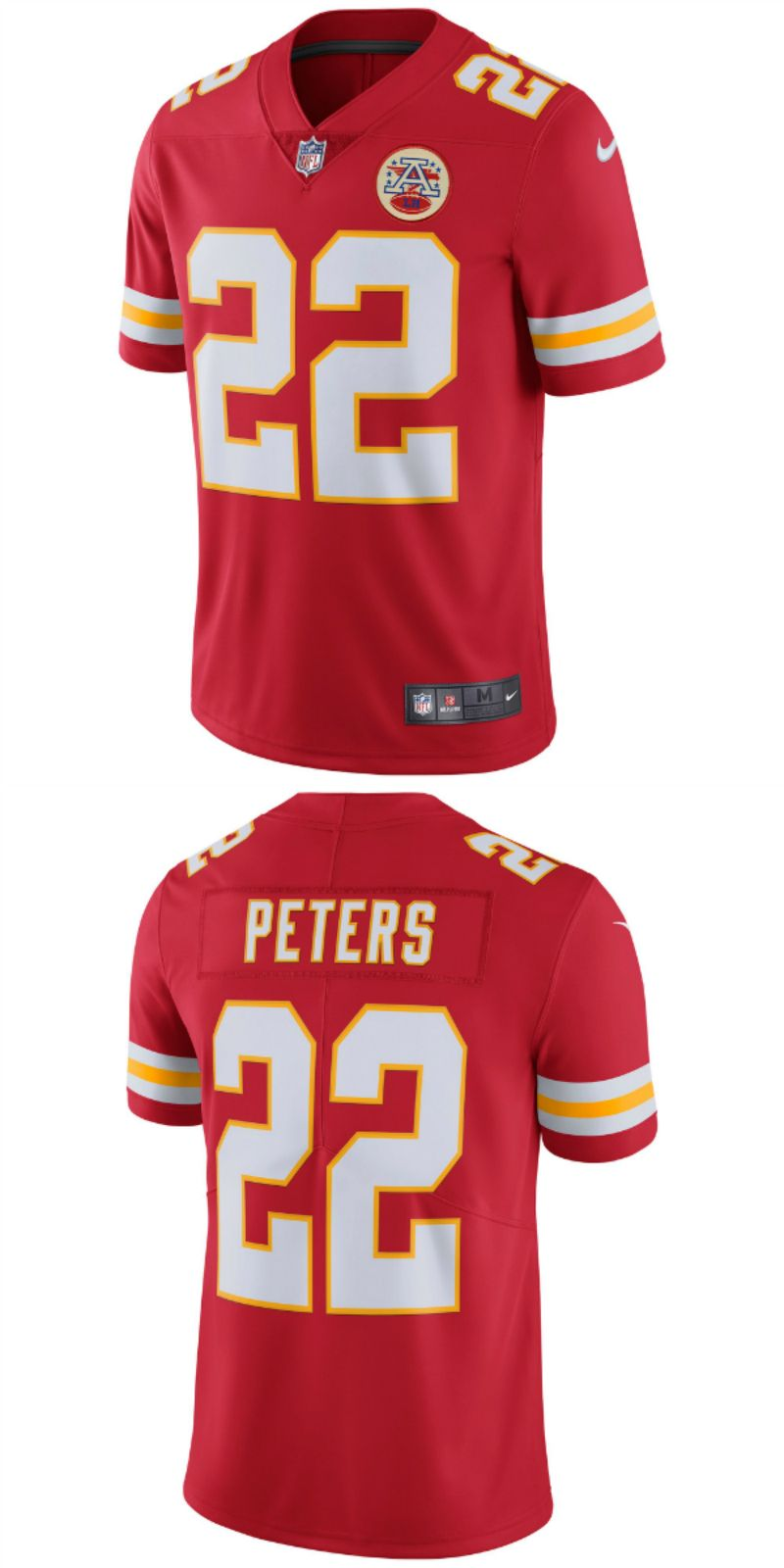 Marshalls Jersey City >> Up To 70 Off Marcus Peters Kansas City Chiefs Nike Game Jersey Red
