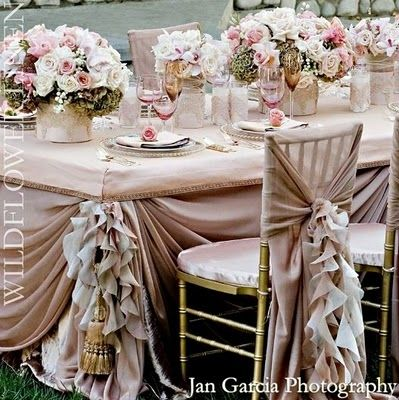 Blush Pink Wedding Theme By Fruityjoylala