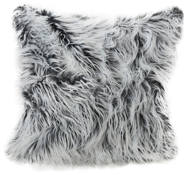throw pillows furry pillow