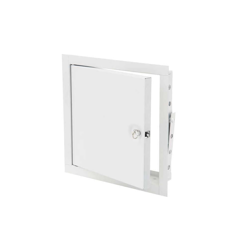 Elmdor 14 In X 14 In Fire Rated Metal Wall And Access Panel Whites Access Panel Metal Walls Residential Plumbing