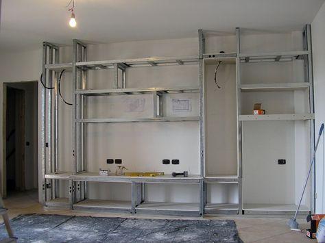 Mobile in cartongesso ceiling design pinterest - Porta tv in cartongesso ...