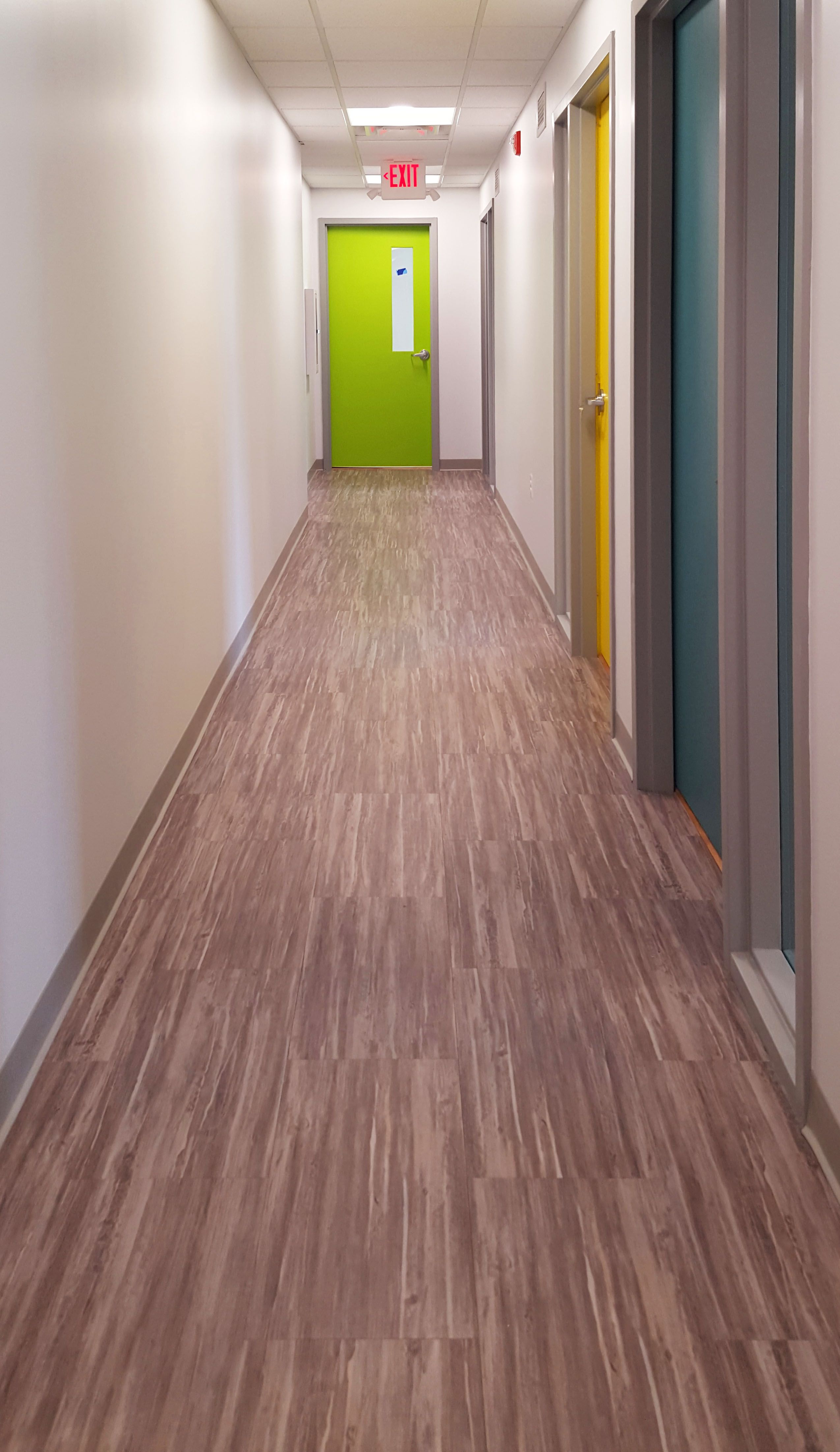 AVA® Luxury Vinyl Flooring for commercial spaces installed