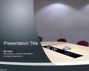 Meeting Room Powerpoint Template Free Powerpoint Templates Powerpoint Powerpoint Templates Powerpoint Template Free