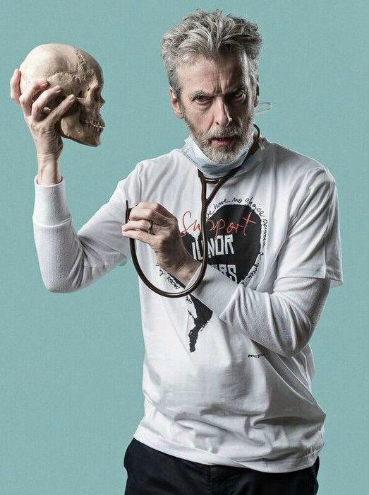 Peter Capaldi (Twelfth Doctor) http://wearyournhs.com/