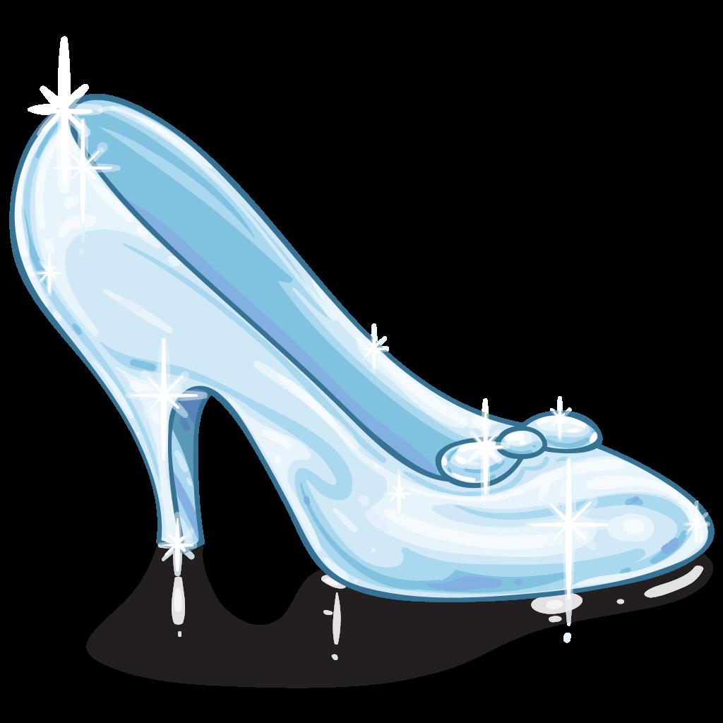 Cinderella Glass Slipper Silhouette