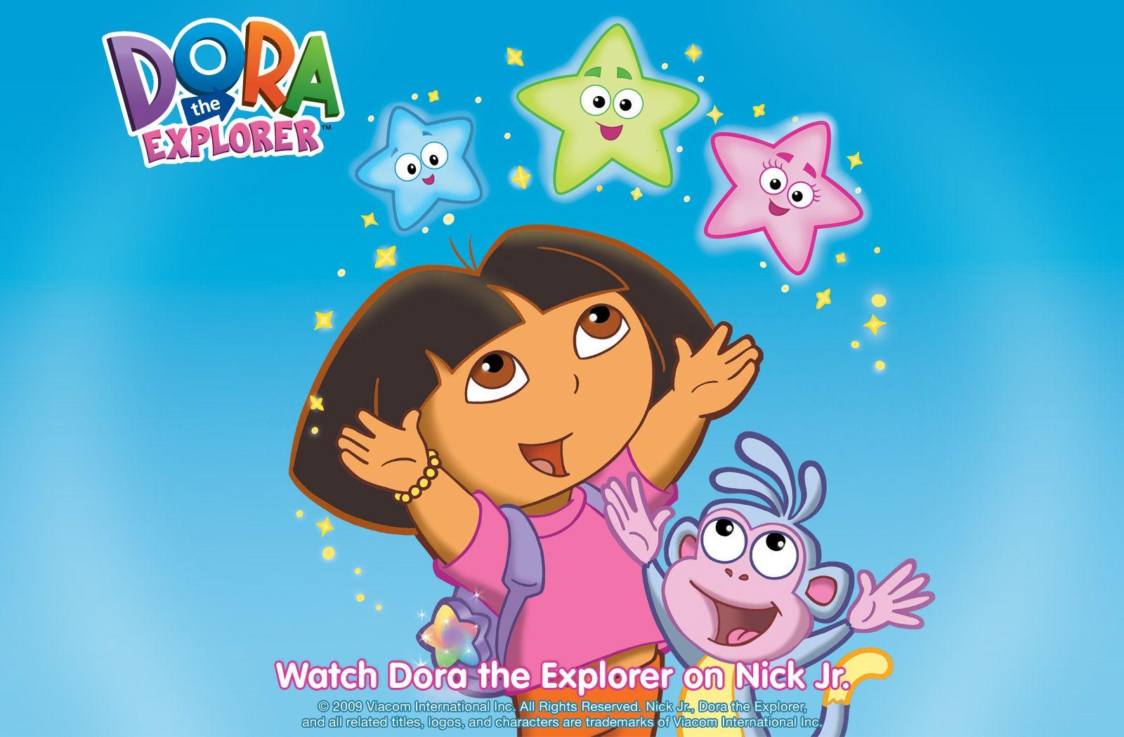 Dora The Explorer Wallpaper Cartoon Dora Coloring Dora The Explorer Dora And Friends